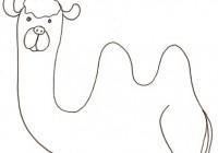 Disegni Di Animali Del Deserto Da Colorare Immagini Da Stampare