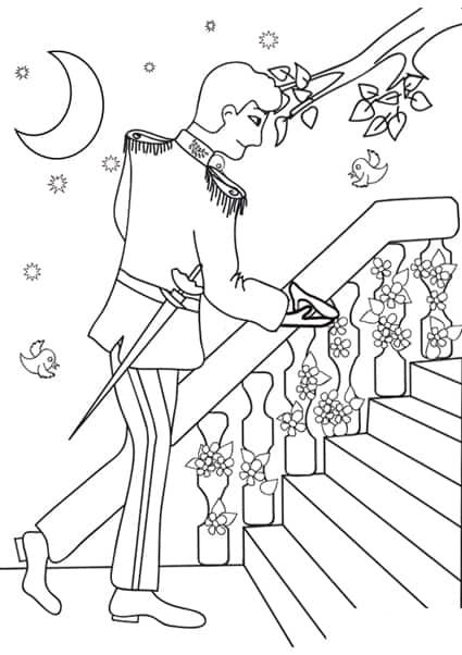 Il Principe Raccoglie La Scarpina Di Cenerentola Cose Per Crescere