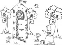 La strega di raperonzolo disegno da colorare cose per - Presidenti giorno colorare le pagine da colorare ...