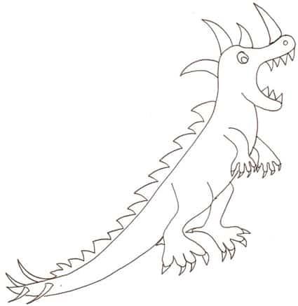 Disegno Dinosauri Per Bambini.Disegno Di Dinosauro Cose Per Crescere