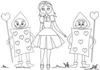 Disegni Di Alice Nel Paese Delle Meraviglie Da Colorare Immagini