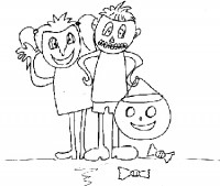 Disegni Di Halloween Per Bambini Disegni Gratis Da Colorare Halloween