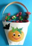 Borsetta porta dolcetti per Halloween
