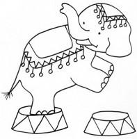 Disegni Da Colorare Sul Circo Immagini Per Bambini Da Stampare Gratis