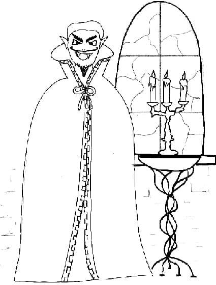 Vampiro - Immagini di aquiloni per colorare ...
