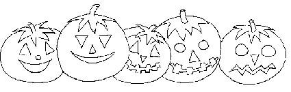 Zucche Di Halloween Da Colorare Cose Per Crescere