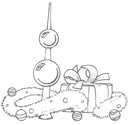 Decorazioni Di Natale Disegni.Decorazioni Natalizie Da Ritagliare Immagini Di Angeli Per