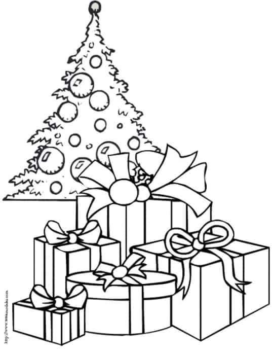 Disegno Di Un Albero Di Natale Cose Per Crescere