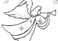Disegni Di Angeli Da Colorare Gratuitamente Disegni Di Angeli Per