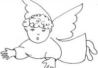 Disegni Di Angeli Da Colorare Gratuitamente Disegni Di