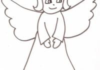 Disegni Angioletti Da Colorare Per Bambini.Disegni Di Angeli Da Colorare Gratuitamente Disegni Di Angeli