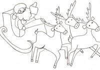 Babbo Natale Sulla Slitta Disegni Da Colorare Coloratutto Website