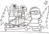Disegni Di Babbo Natale Da Stampare E Colorare Disegno Per Bambini