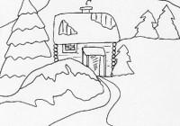 Disegni sulla campagna cose per crescere for Paesaggio invernale disegno
