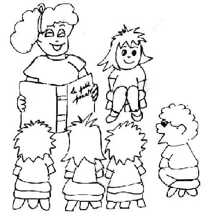 Disegni di bambini a scuola - Cose Per Crescere