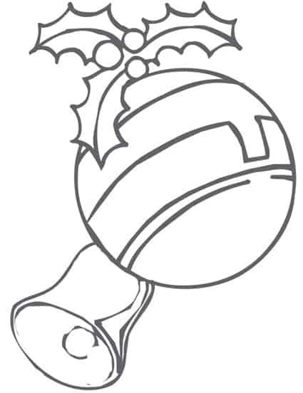 Famoso Disegno di palla di Natale da stampare e colorare - Cose Per Crescere LJ16