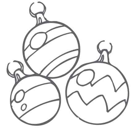 Disegni Di Palline Di Natale.Palle Di Natale Da Colorare Cose Per Crescere