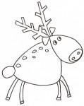 Disegno di una renna