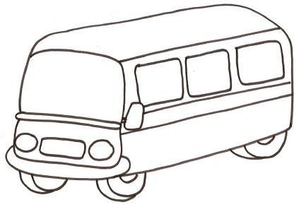 Disegno di autobus