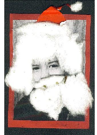 Biglietto d'auguri natalizio con bambino