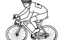 Bicicletta Disegno Da Colorare.Disegni Di Biciclette Da Colorare Per Bambini Immagini Da Stampare