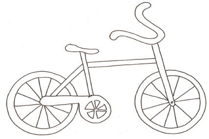 Bicicletta Da Colorare Cose Per Crescere