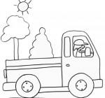 Disegno di un furgoncino