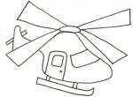 Disegno di elicottero