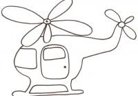 Disegni Di Elicotteri Da Colorare Per Bambini Immagini Da