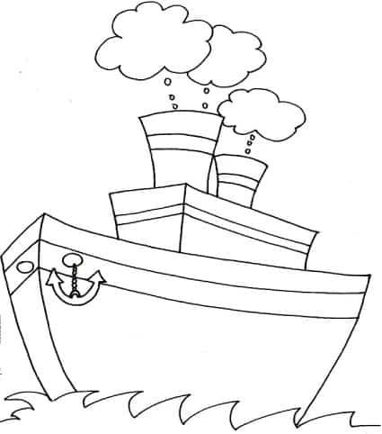disegno di nave