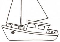 Disegni Di Barche Da Colorare Per Bambini Immagini Da Stampare