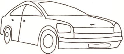 Utilitaria - Profili auto per colorare ...