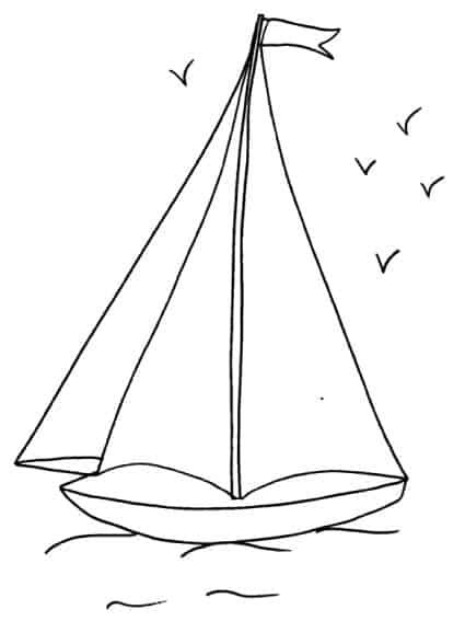 Disegno Di Barca A Vela Cose Per Crescere
