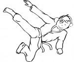 Disegno di un judoka