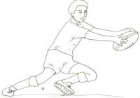 Disegni Da Colorare E Stampare Rugby.Disegni Sul Rugby Da Colorare Immagini Da Stampare