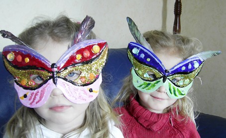 Maschera farfalla