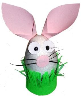Un coniglio divertente