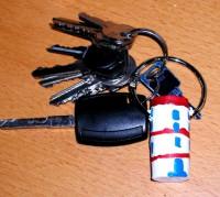 porta chiavi tappo