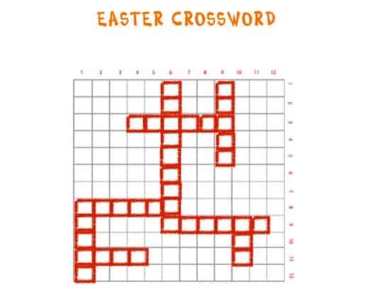 Cruciverba di Pasqua in inglese