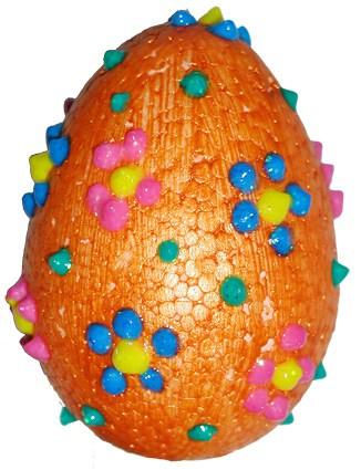 Uovo di Pasqua decorato : lavoretto di Pasqua
