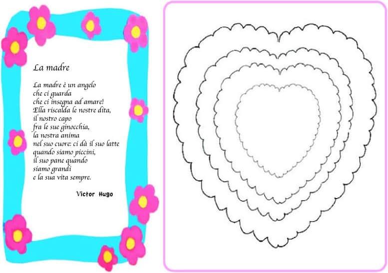 Eccezionale Poesie e filastrocche per la mamma - per bambini scuola primaria e  WT13