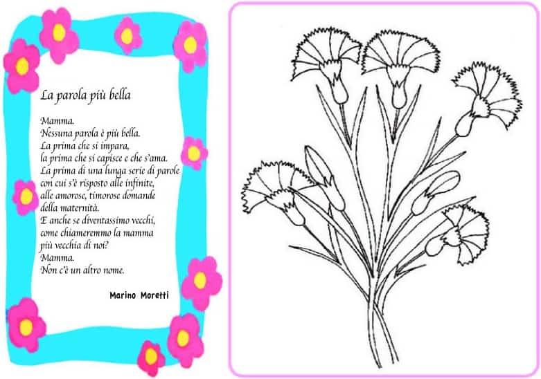 Popolare Poesia per la mamma: La parola più bella KB23
