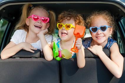 Viaggiare in macchina con i bambini