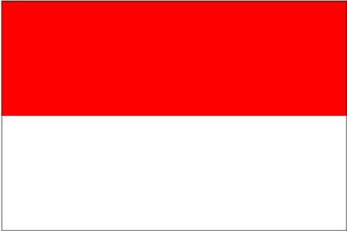 Bandiera monegasca