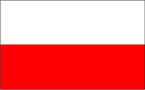 Risultato immagini per bandiera polonia