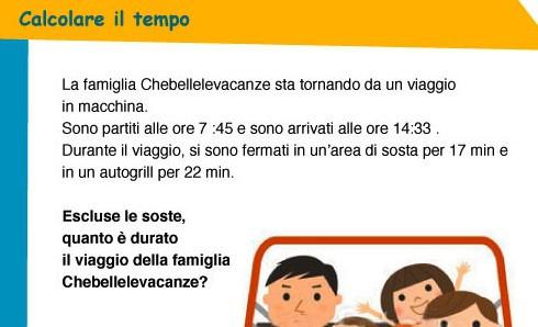 Calcolare il tempo: la famiglia Chebellelevacanze