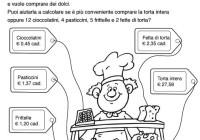 Matematica Quarta Elementare Esercizi E Problemi