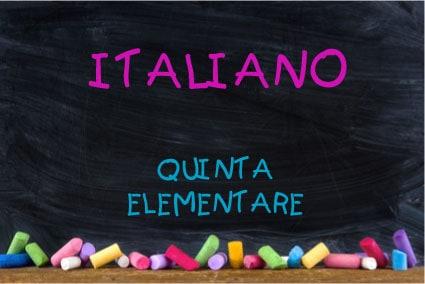 Super Esercizi di italiano per la quinta elementare SY34