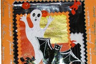 Biglietto per Halloween da creare