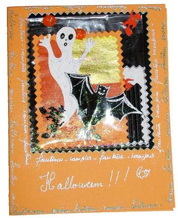 Biglietto cartolina da fare per halloween